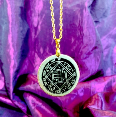 4th Pentacle of Venus (Austere Black Finish)
