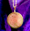 4th Pentacle of Venus (Polished Brass Finish)
