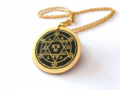 Hexagram of Solomon (Austere Black Finish)
