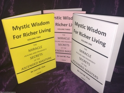 Mystic Wisdom For Richer Living (3 Volume Set) By Dr. Lori M. Poe