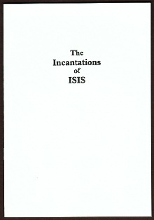 The Incantations of Isis by Anonymous