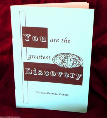 You Are The Greatest Discovery By William Oribello