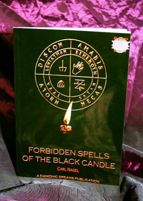 Forbidden Spells of The Black Candle By Carl Nagel