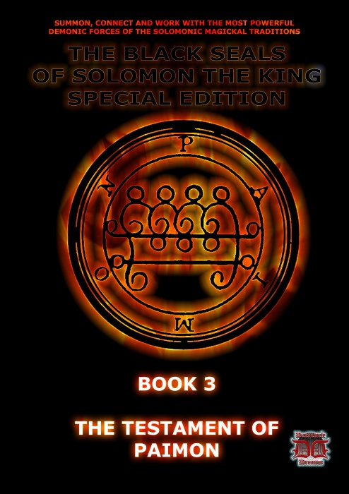 The Black Seals of Solomon Series Book 3: The Testament of Paimon