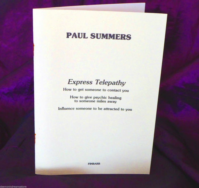 EXPRESS TELEPATHY By Paul Summers