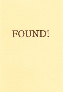 Found! by Lois Montsorrel