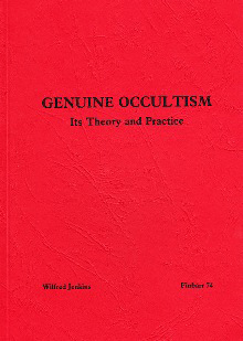GENUINE OCCULTISM by W. Jenkins