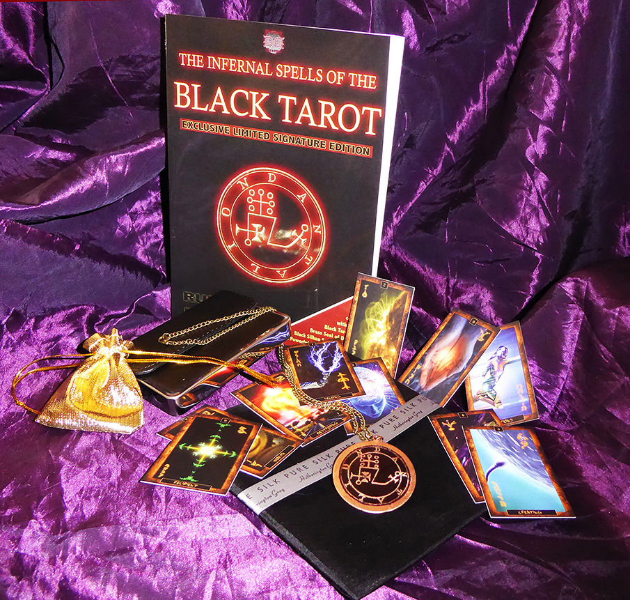 INFERNAL SPELLS OF THE BLACK TAROT By RUPERT BLUNT