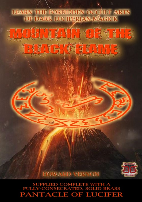 Mountain of the Black Flame by Howard Vernon
