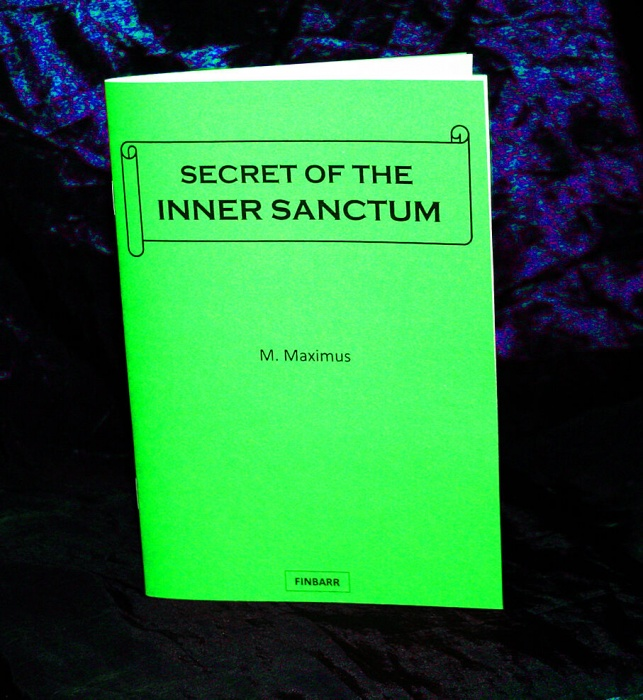 Secret of The Inner Sanctum By M. Maximus