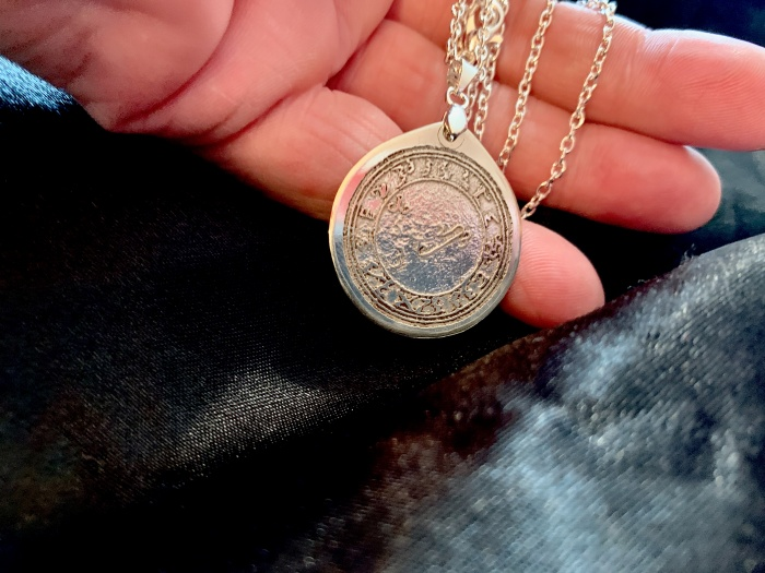 30mm Sterling Silver Talisman Design Service