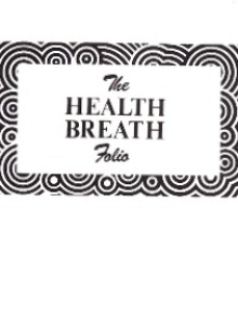 THE HEALTH BREATH By Edmund Bruce-Barker