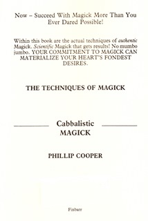 Techniques Of Magick By Phillip Cooper