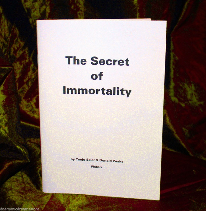 The Secret Of Immortality By T. Salar & D. Peake